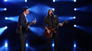 Dave Grohl and Jimmy Fallion have performed The Best meme together