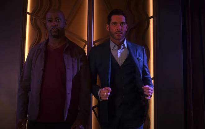 """D.B. Woodside, who plays Lucifer&squot;s brother Amenadiel, has teased we can expect """"heartbreaking"""" moments"""