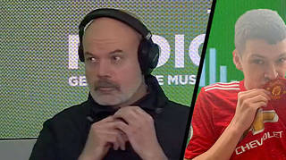 Dom reveals if he's worn a Man United kit on The Chris Moyles Show