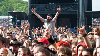 Download festival crowds in 2019