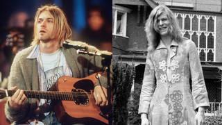 Kurt Cobain and David Bowie