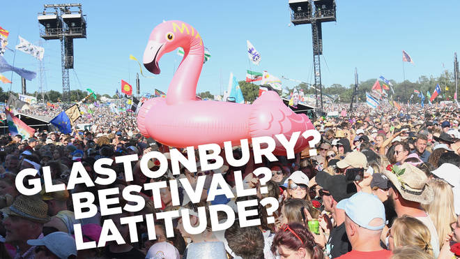 Who are these people and which festival are they at?