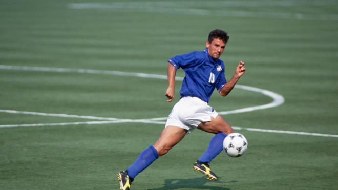 Roberto Baggio ha giocato per l'Italia nella partita della Coppa del Mondo 1994 contro la Bulgaria