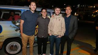 The Inbetweeners Cast Arrive In The Gold Coast
