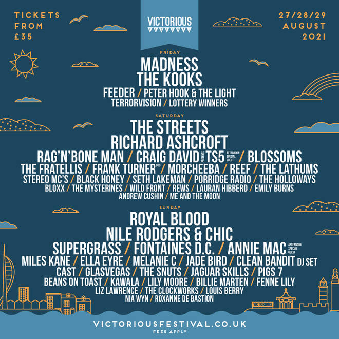 Victorious Festival 2021 line-up