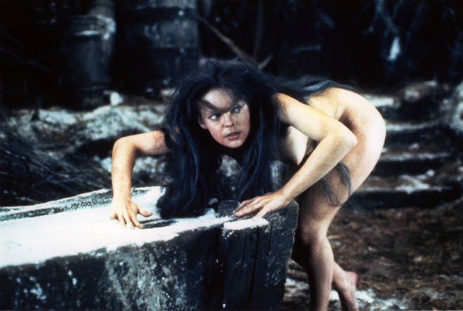 """Danielle Dax as """"Wolf-Girl"""" in the film The Company Of Wolves"""