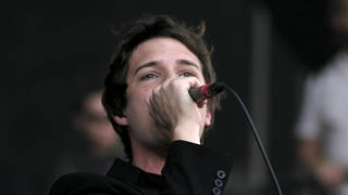 The Killers' Brandon Flowers in 2004