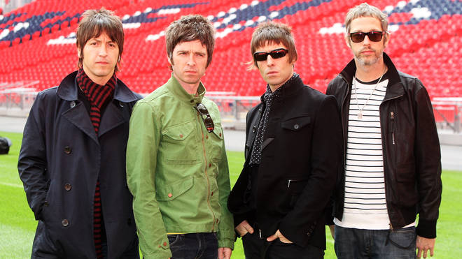 The last incarnation of Oasis at Wembley in 2008