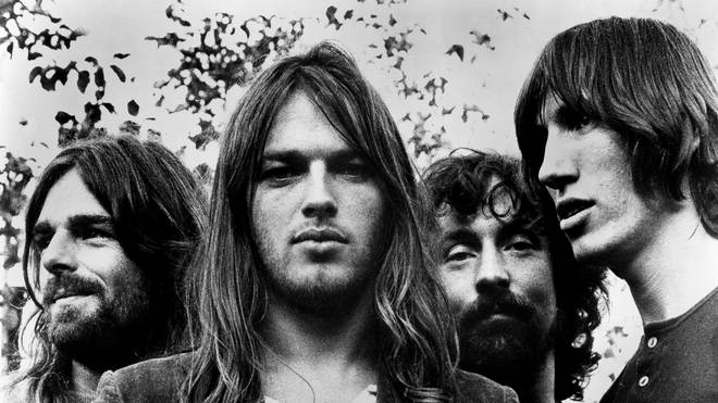 """The """"classic"""" line-up of Pink Floyd in 1973: Rick Wright, Dave Gilmour, Nick Mason and Roger Waters"""