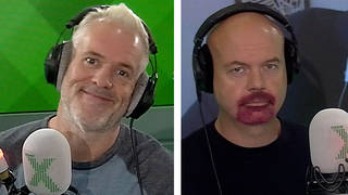 Chris Moyles and Dominic Byrne dyed their hair and beard in lockdown