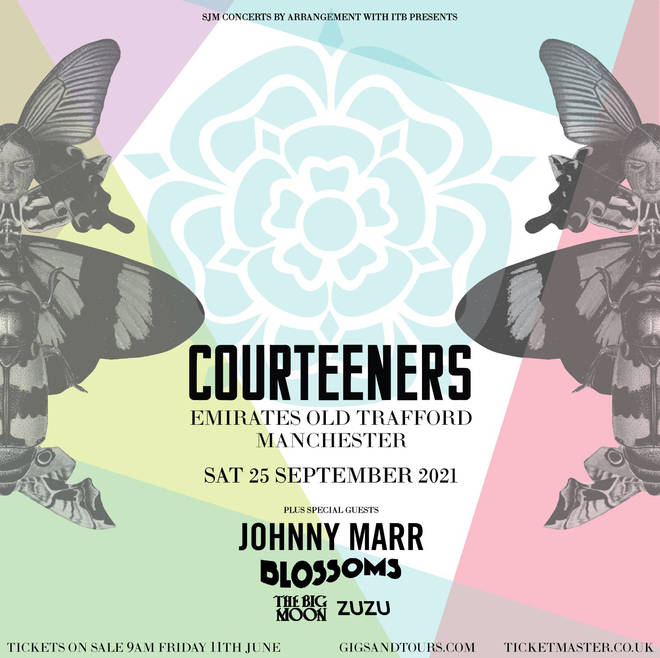 Courteeners at Emirates Old Trafford poster