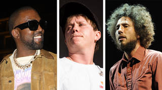 Kanye West, Nothing But Thieves Conor Mason and Rage Against The Machine's Zack de la Rocha