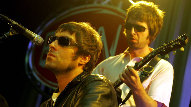 Liam and Noel Gallagher in 2005