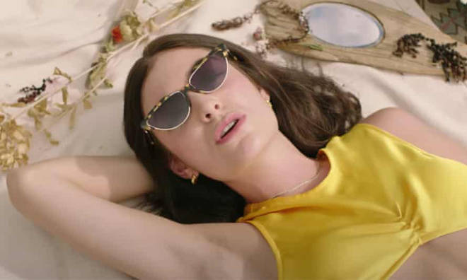 Lorde in her Solar Power video