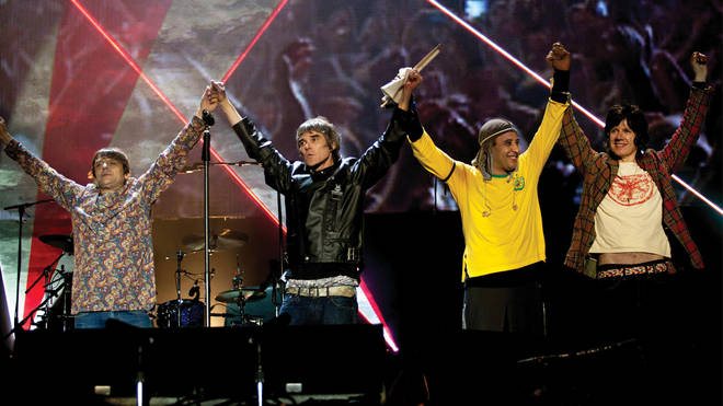 The Stone Roses in 2013: Mani, Ian Brown, Reni and John Squire