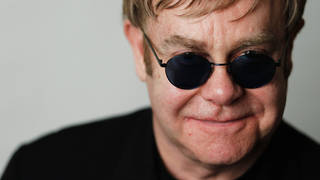 Sir Elton John poses for a portrait in January 2011