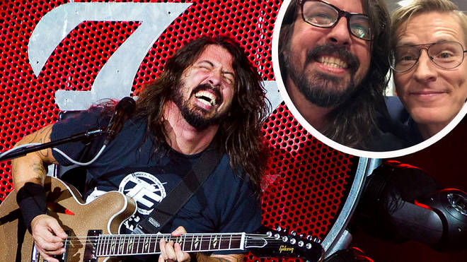 Dave Grohl reunites with the doctor who strapped him up when he fell in Sweden