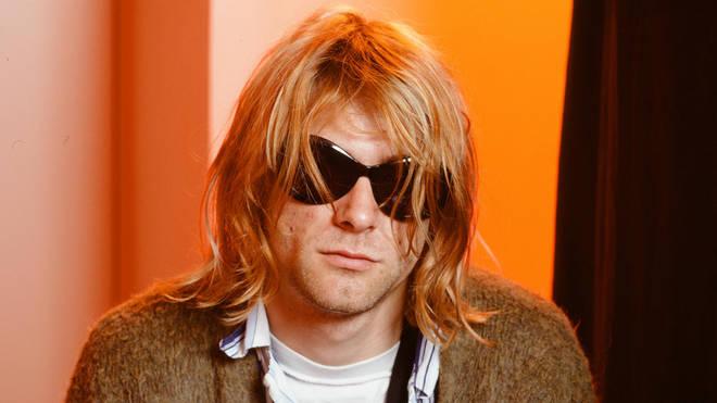 Kurt Cobain in Japan in February 1992