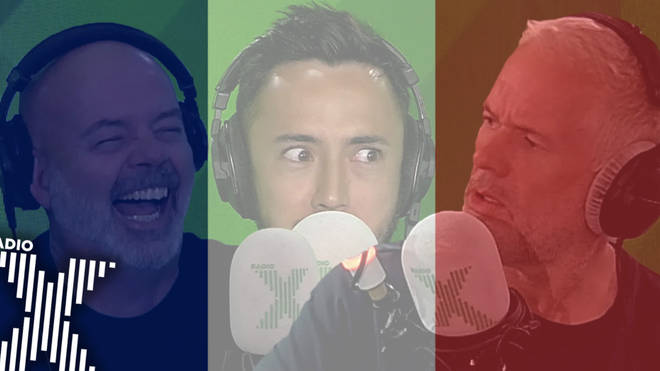 Chris and the team speak French on The Chris Moyles Show