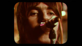 Liam Gallagher in the video for the Oasis single Stop Crying Your Heart Out