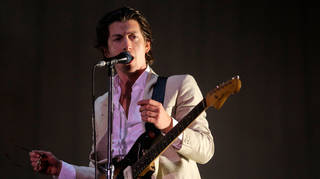 Arctic Monkeys' Alex Turner in 2018