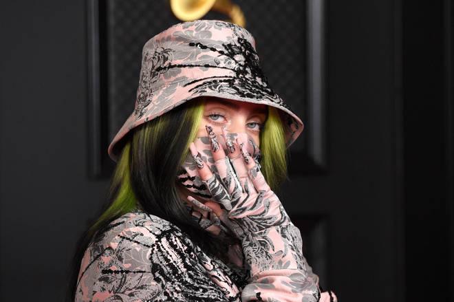 Billie Eilish at the 63rd Annual GRAMMY Awards – Arrivals