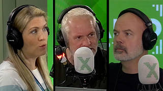 Pippa learns to argue on The Chris Moyles Show
