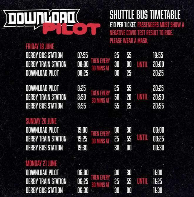 Download Pilot shuttle times
