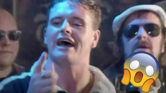 Gazza in the Fog On The Tyne video