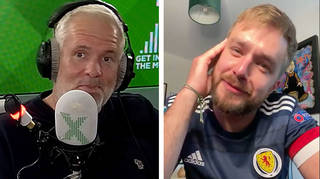 Chris Moyles and Iain Stirling discuss England vs Scotland