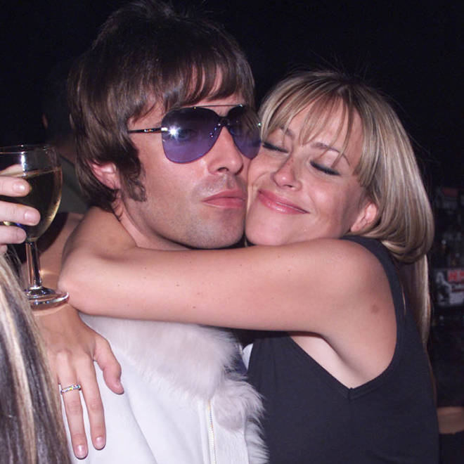 Liam Gallagher and Nicole Appleton at the NME Awards in 2001
