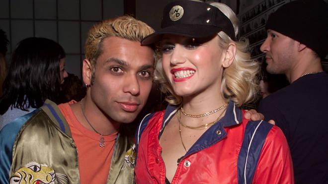 Tony Kanal, and Gwen Stefani in 2000