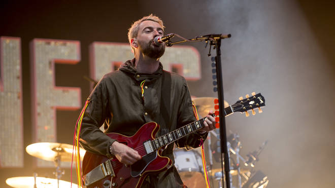 Liam Fray of Courteeners at the Isle Of Wight Festival in 2019