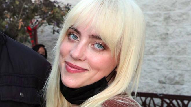 Billie Eilish in 2021