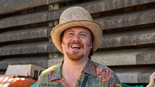 Keith Lemon was spotted today filming scenes, in Hoxton