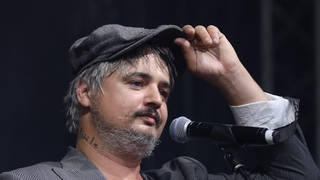 Pete Doherty shows off his fuller figure