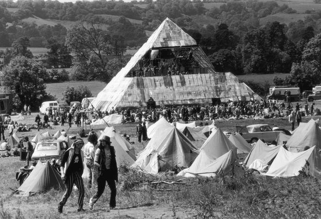 How Glastonbury-goers would have seen David Bowie in June 1971: the original Pyramid Stage