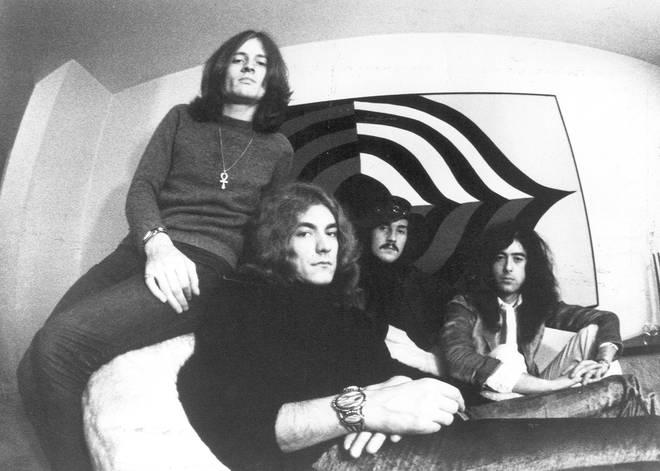 Led Zeppelin in 1971: John Paul Jones, Robert Plant, John Bonham, Jimmy Page