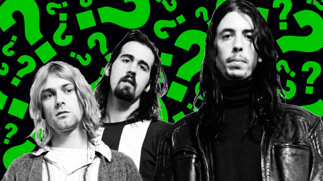 Nirvana in 1992: Kurt Cobain, Krist Novoselic and Dave Grohl