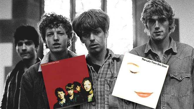 The La's in 1990: Neil Mavers, John Power, Lee Mavers and Peter Camell