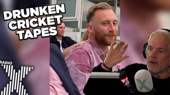 Toby Tarrant gets tipsy at the cricket
