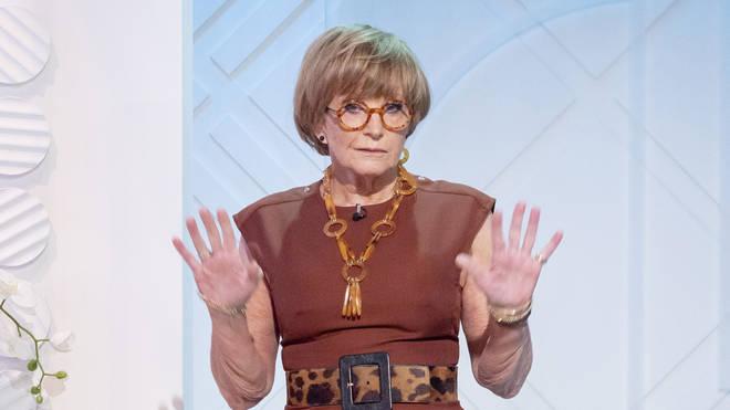 Anne Robinson on Lorraine