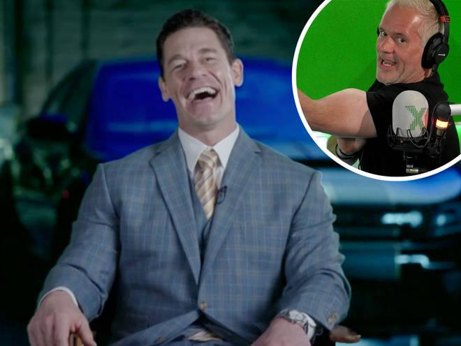John Cena talks to The Chris Moyles Show
