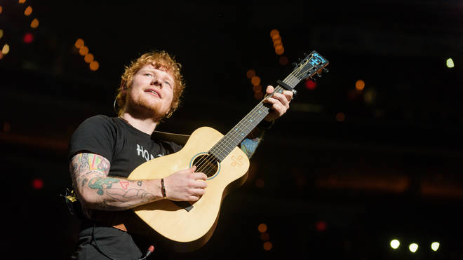Ed Sheeran brings his ÷  tour to the Capital One Arena in Washington, D.C., September 2017