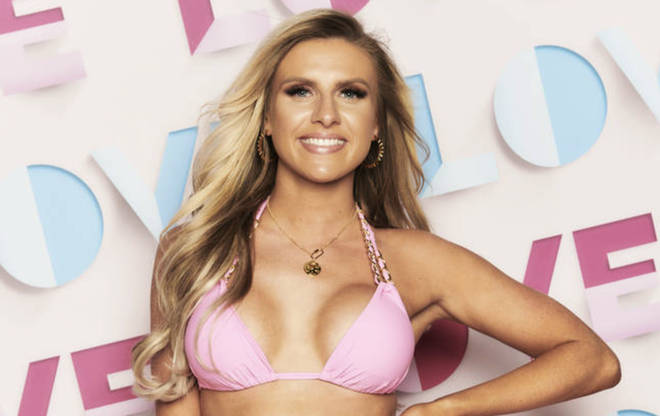 Love Island's Chloe Burrows is the first bombshell to enter the villa