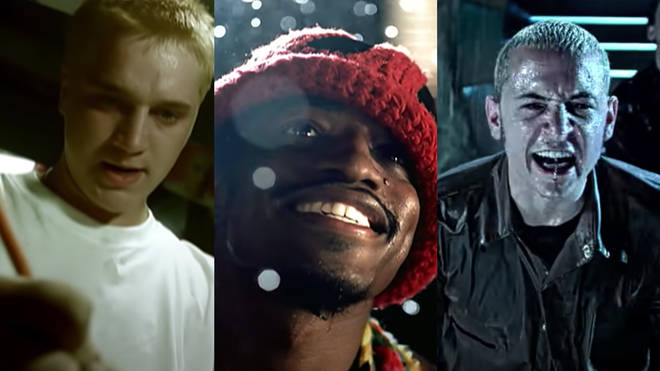 Big tunes from 2000: Stan by Eminem, Ms Jackson by OutKast and In The End by Linkin Park