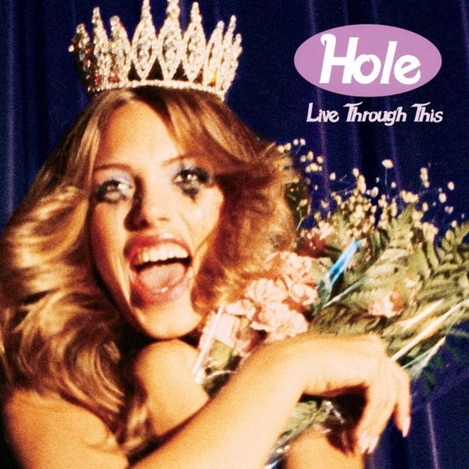 Hole's 1994 Live Through This album artwork
