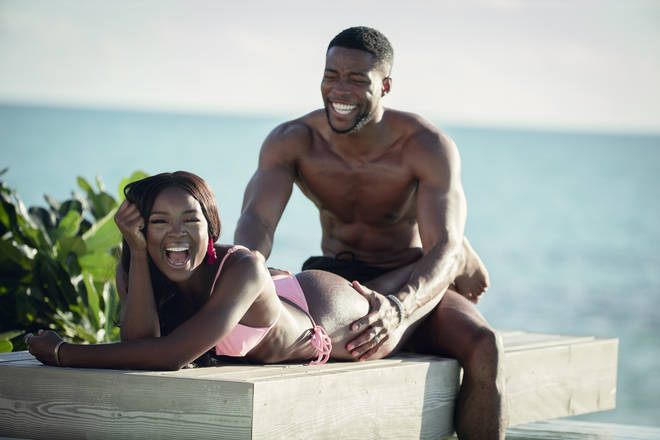 Marvin and Melinda from Netflix's Too Hot To Handle