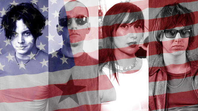 Generation-defining American indie artists: The White Stripes, R.E.M., Yeah Yeah Yeahs and The Strokes