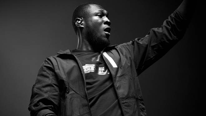 Stormzy performs in 2018